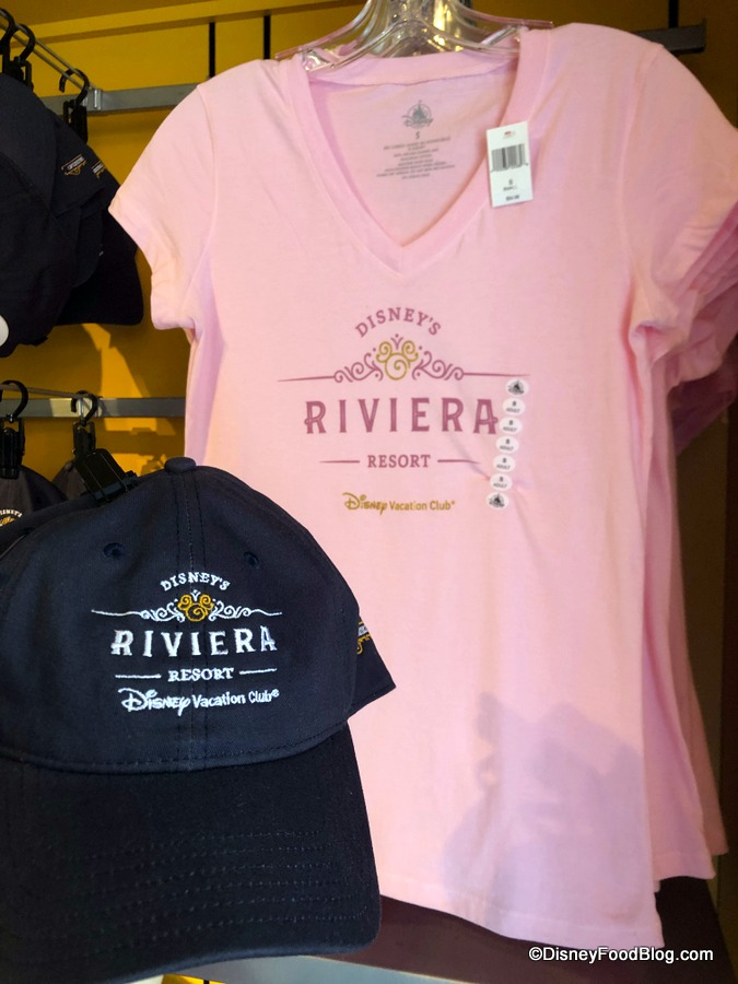 Spotted Merchandise for Disney Worlds Upcoming Riviera Resort  the disney food blog