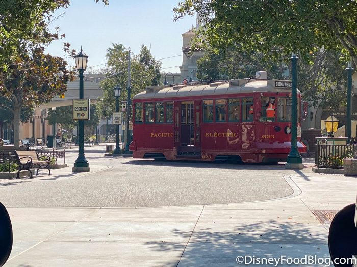 2020 disneyland resort disney california adventure park red car trolley 4
