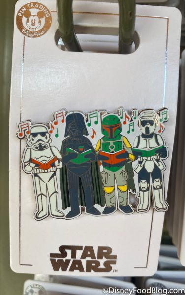 Disneyland 2020 Pin Traders Christmas Pin Darth Vader Star Wars Carol