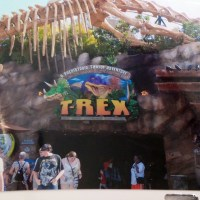 """#DinoWeek Dining with """"Dis – Extinction"""" at the T-Rex Cafe"""