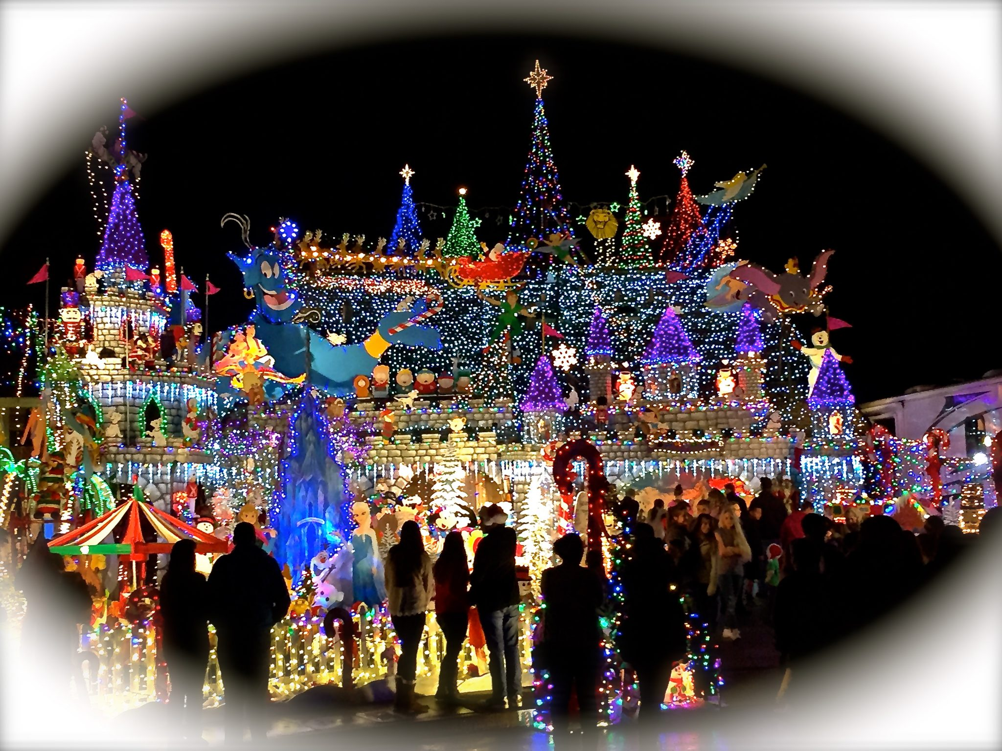 Christmas Light Fight.Weaver Winter Wonderland Featured On The Great Christmas