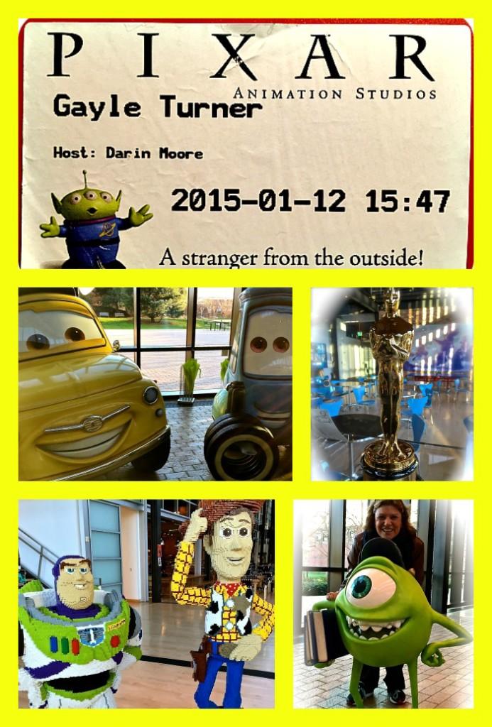 Pixar Studios Tour #PixarInsideOutEvent