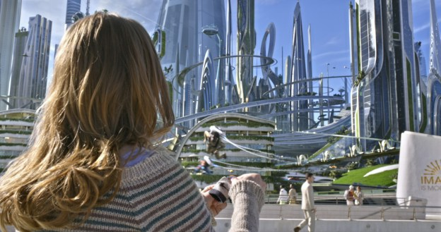 Disney's TOMORROWLANDCasey (Britt Robertson) Ph: Film Frame©Disney 2015