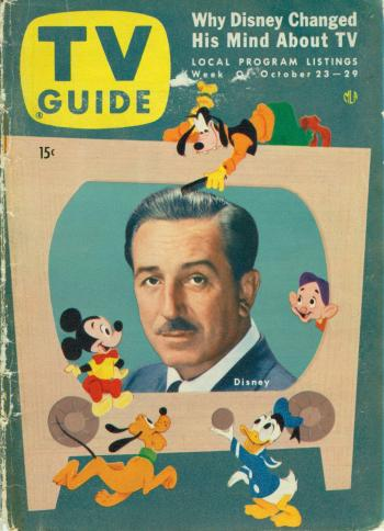 Disneyland 1955 Walt TV Guide