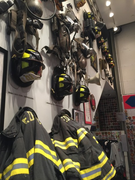 FDNY Fire Zone Turnout Coats and Helmets