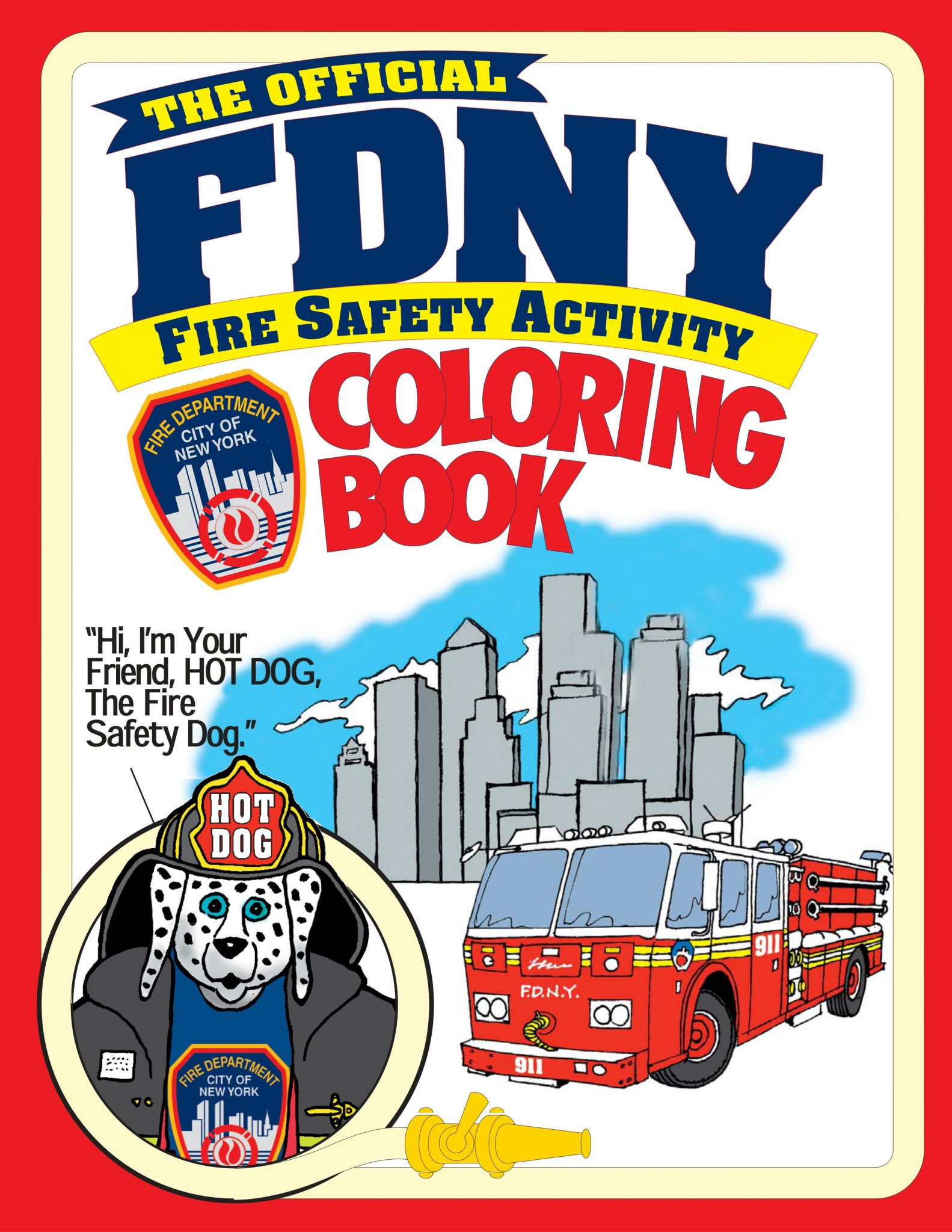 Download The Entire FDNY Coloring And Activity Booklet Here