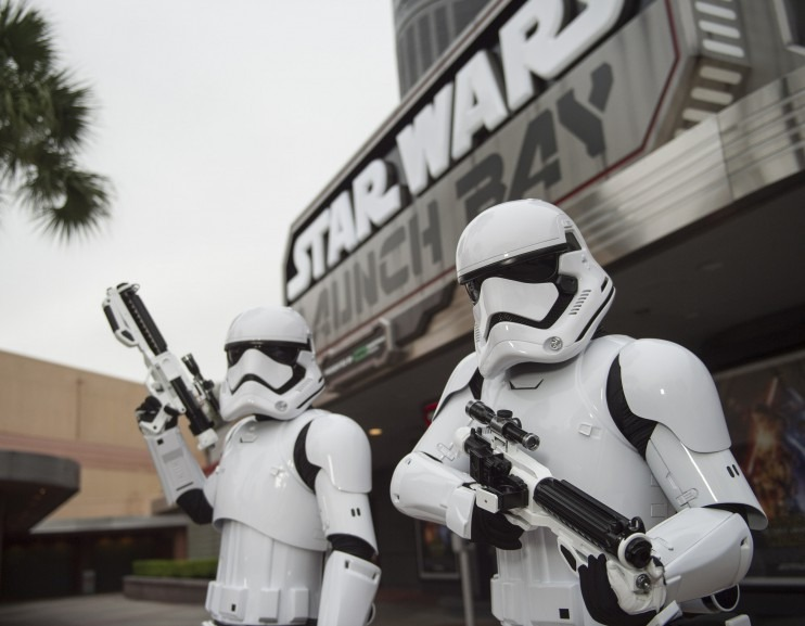 Storm Troopers Launch Bay WDW