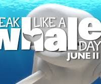 """Speak Like A Whale Day"" Is June 11 + New Free Finding Dory Activity Sheets"