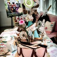 Tea Parties And Alice Through The Looking Glass