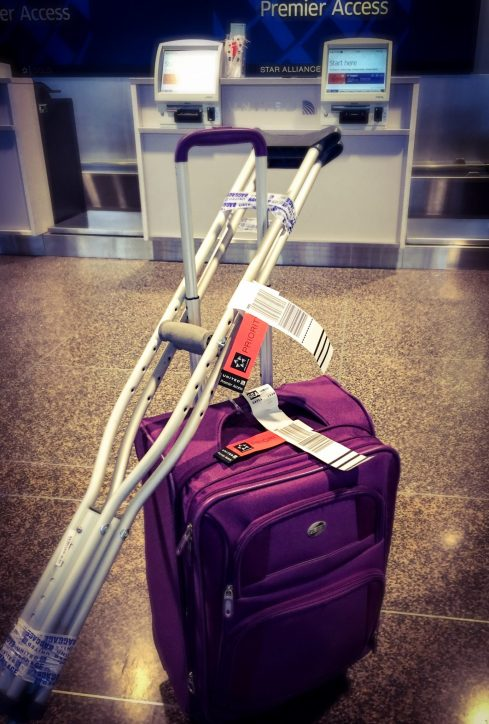 Traveling On Crutches