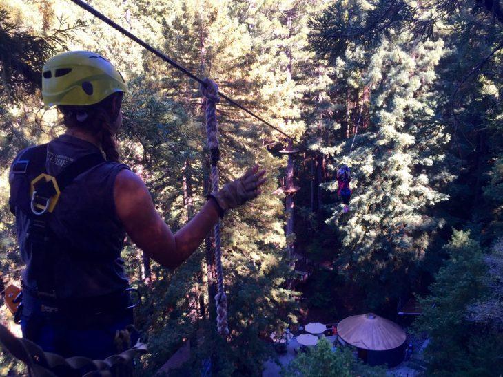Sonoma Canopy Tours Northern CA Sonoma County Zipline