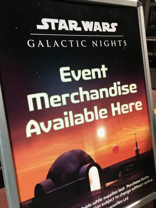 Star Wars: Galactic Nights Walt Disney World Disney's Hollywood Studios