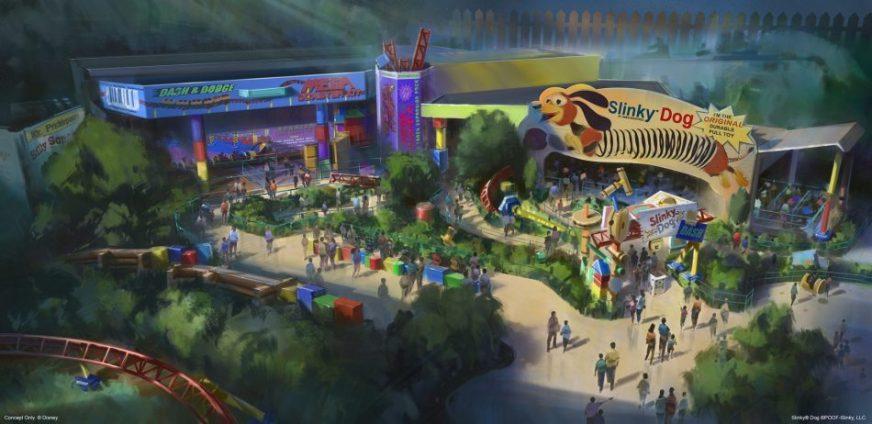 Toy Story Land DIsney Hollywood Studios Walt Disney World