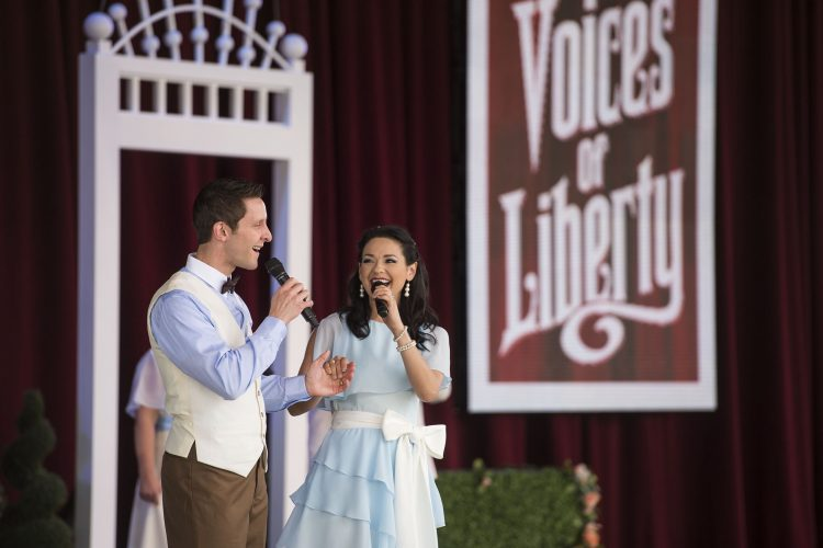 Voices of Liberty Epcot Walt Disney World
