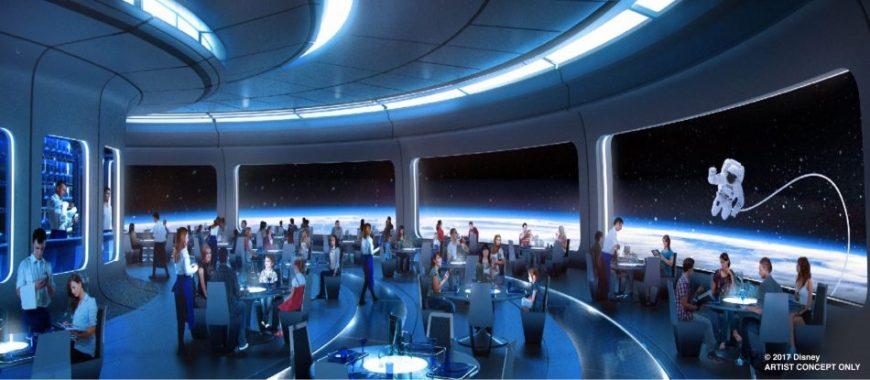 Space Restaurant Walt Disney World