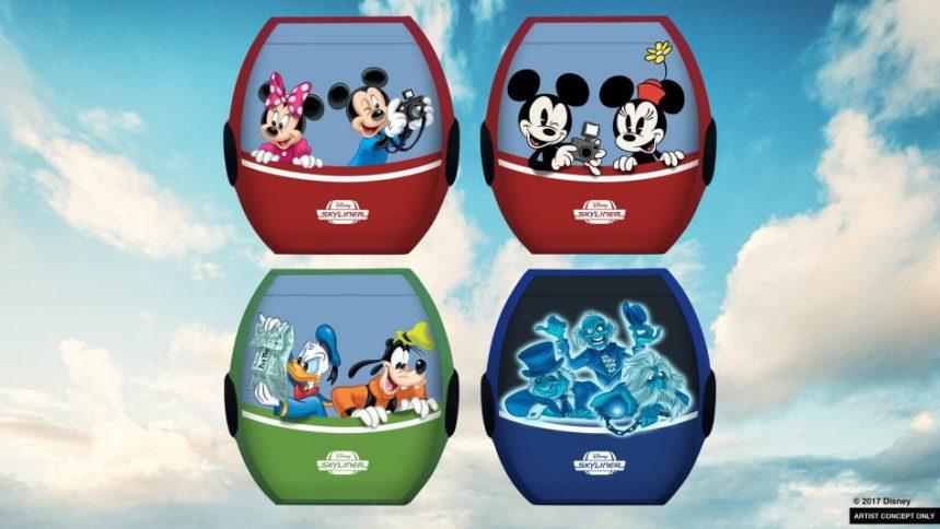Walt Disney World Disney Skyliner