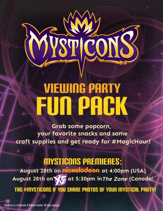 Mysticons Fun Pack Nickelodeon