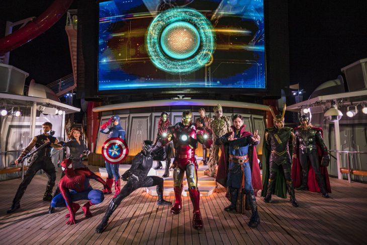 Disney Cruise Line Marvel Days At Sea