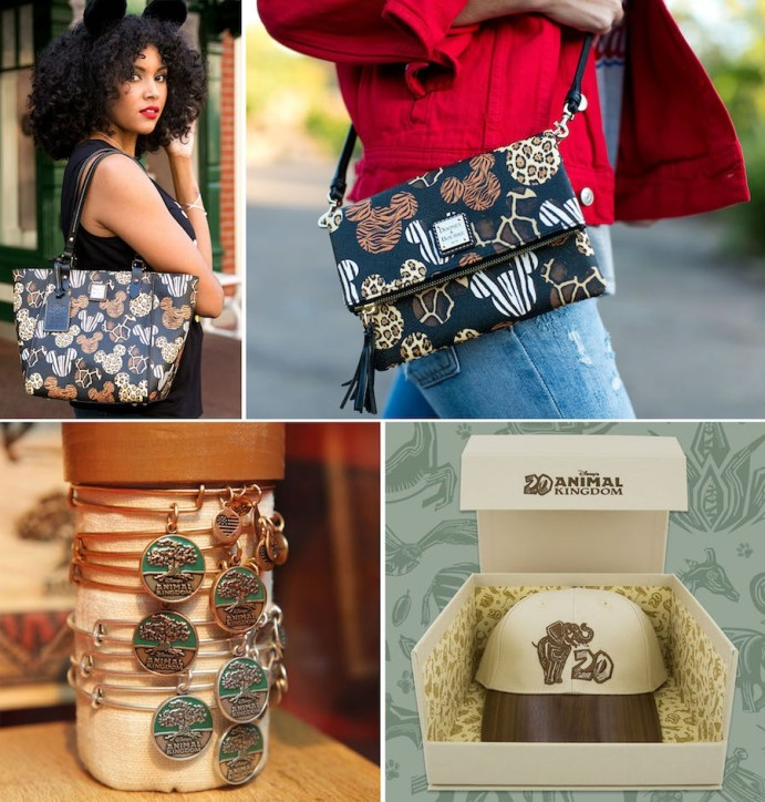 """Ready! Set! Shop! Disney's Animal Kingdom 20th Anniversary """"I Was There Collection"""" Merchandise"""