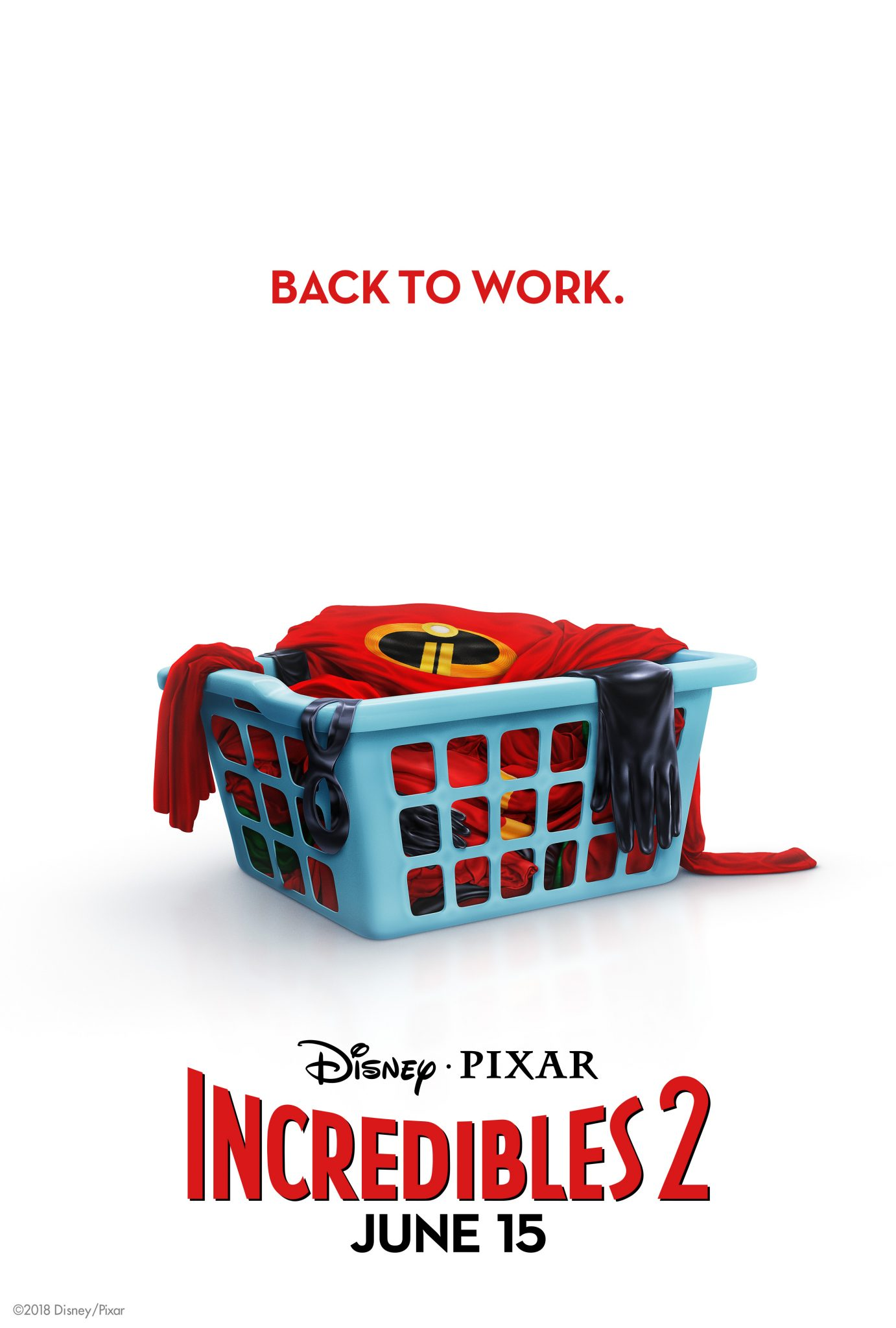 Incredibles2 Back To Work