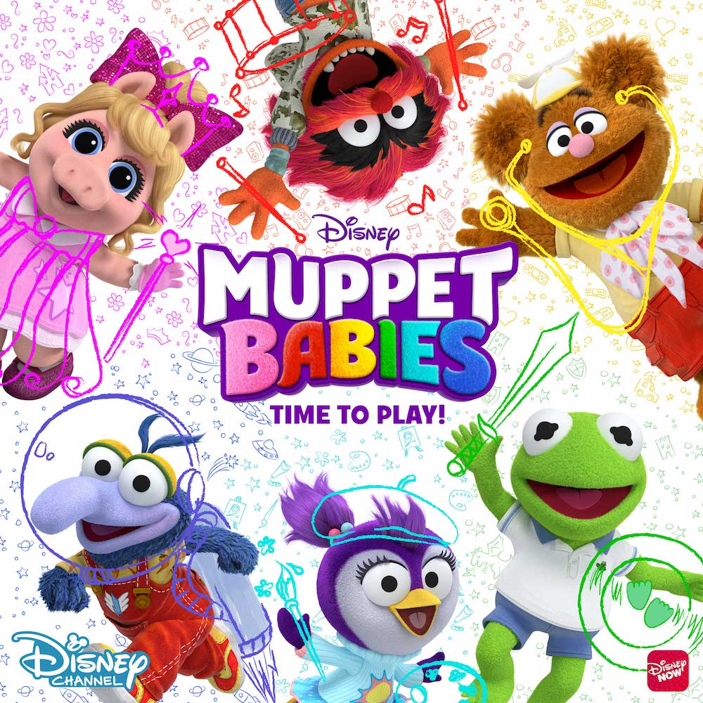 158 Best Images About Kermit Miss Piggy On Pinterest: Bring Home Muppet Babies: Time To Play On DVD On August
