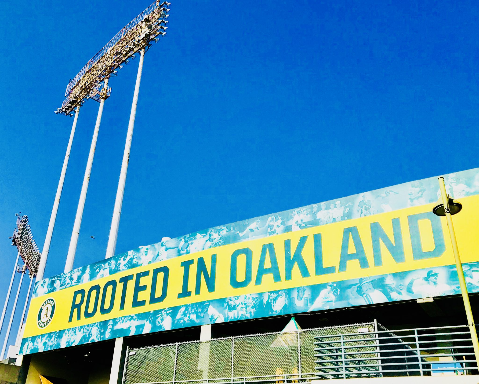 Oakland A's Baseball #RootedInOakland