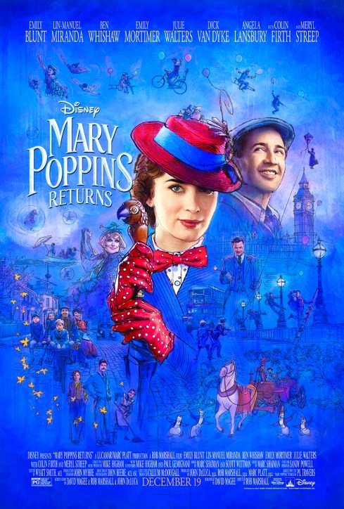 "It's Practically Perfect In Every Way-Here's The FIRST TRAILER For ""Mary Poppins Returns"""