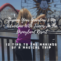 Surviving Your Grandma And Me Adventure With Tweens To Disneyland-12 Tips To Making It Magical