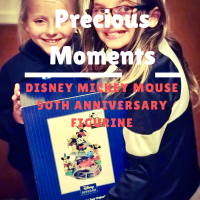 You NEED This Precious Moments Disney Mickey Mouse 90th Anniversary Figurine + Enter Today To WIN A Precious Moments Disney Collectible #PreciousMoments, #MickeyTrueOriginal #Mickey90  #Disney