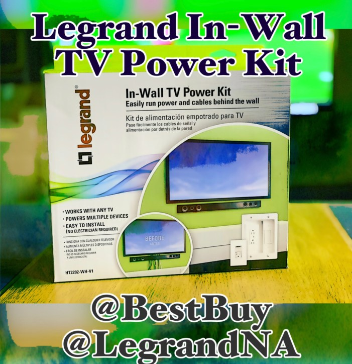 Easy DYI Solution For Detangling Your TV Cables & Cords – The Legrand In-Wall TV Power Kit Now At Best Buy @LegrandNA @BestBuy #ad