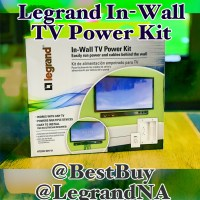 Legrand In-Wall TV Power Kit Best Buy