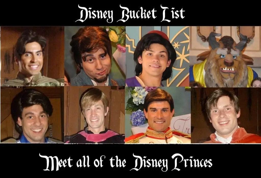 Disney princes - Disney in your Day