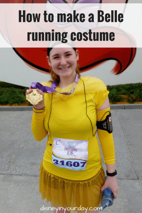 Belle running costume - Disney in your Day