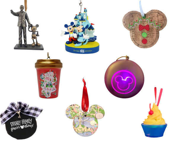 Disney Christmas Ornaments - Disney in your Day