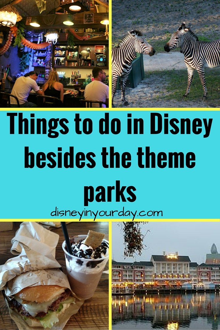 non traditional things to do outside of the parks disney in your day. Black Bedroom Furniture Sets. Home Design Ideas