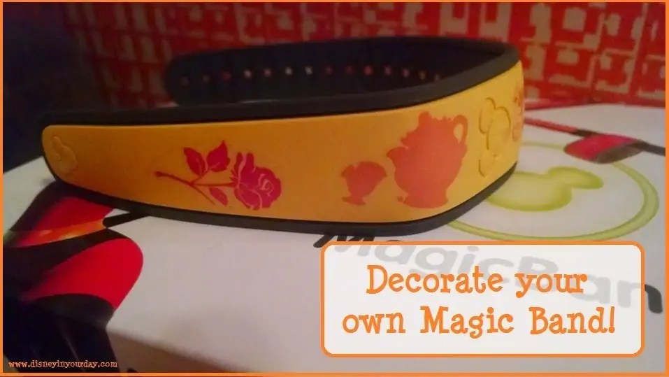decorate your own magic band
