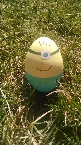 disney eggs minion