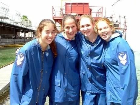 Volunteers on Backlot Tours back in 2004!