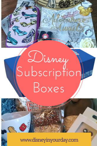 Disney subscription box - Disney in your day