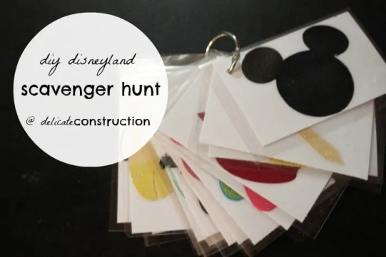 diy-disney-scavenger-hunt