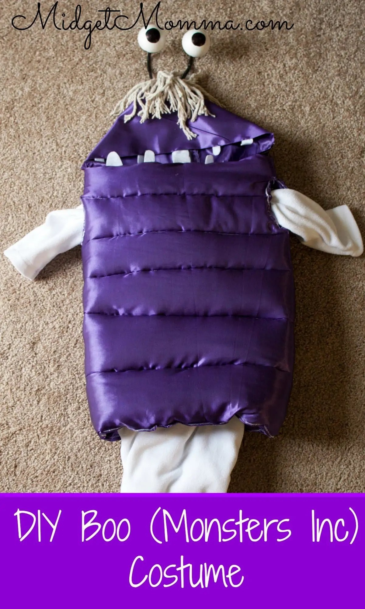 Diy Boo Monsters Inc Costume Disney In Your Day