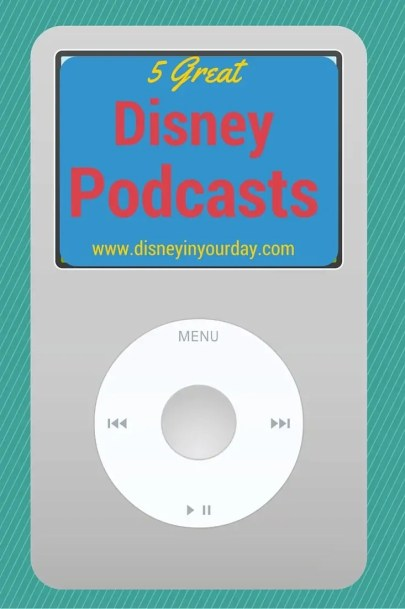 Disney podcasts - Disney in your Day