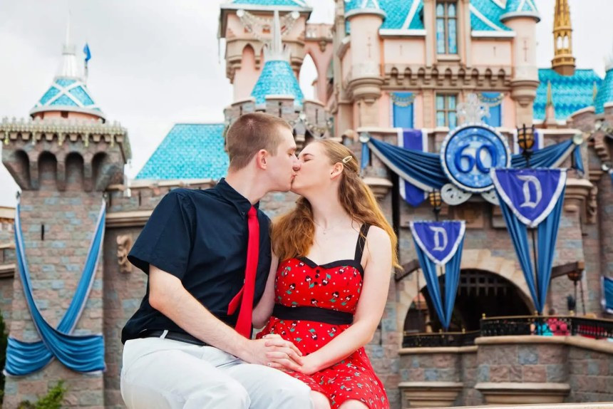 anniversary photo shoot at Disneyland - Disney in your Day