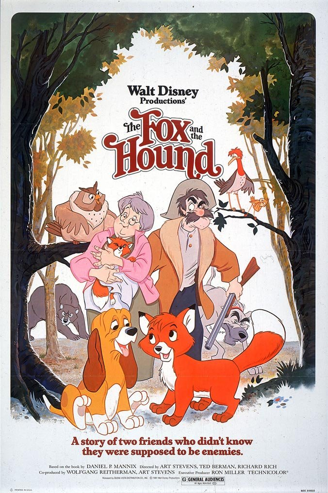 The Fox and the Hound - Disney in your Day