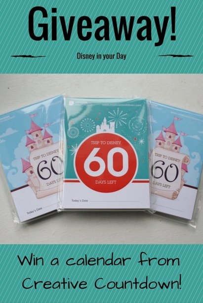 Creative Countdown - Disney in your Day