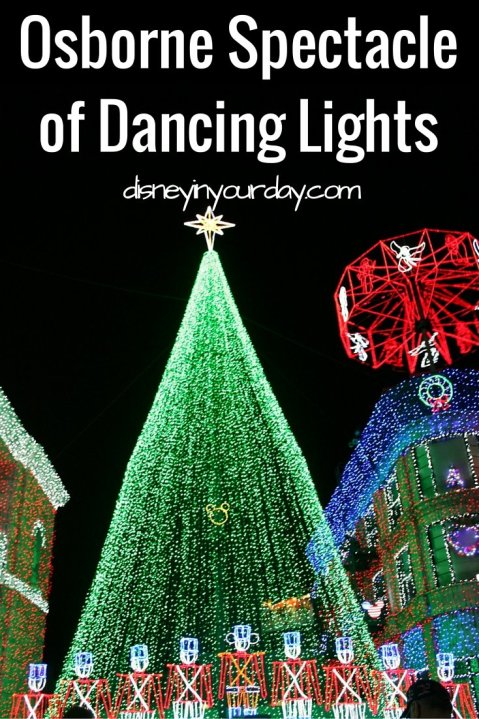 Osborne Spectacle of Dancing Lights - Disney in your Day