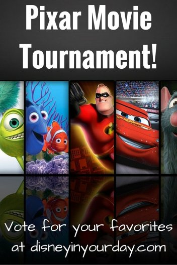 Pixar Movie Tournament!