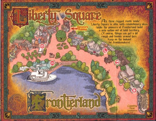 sorcerers_of_the_magic_kingdom_map_-_frontierland_and_liberty_square