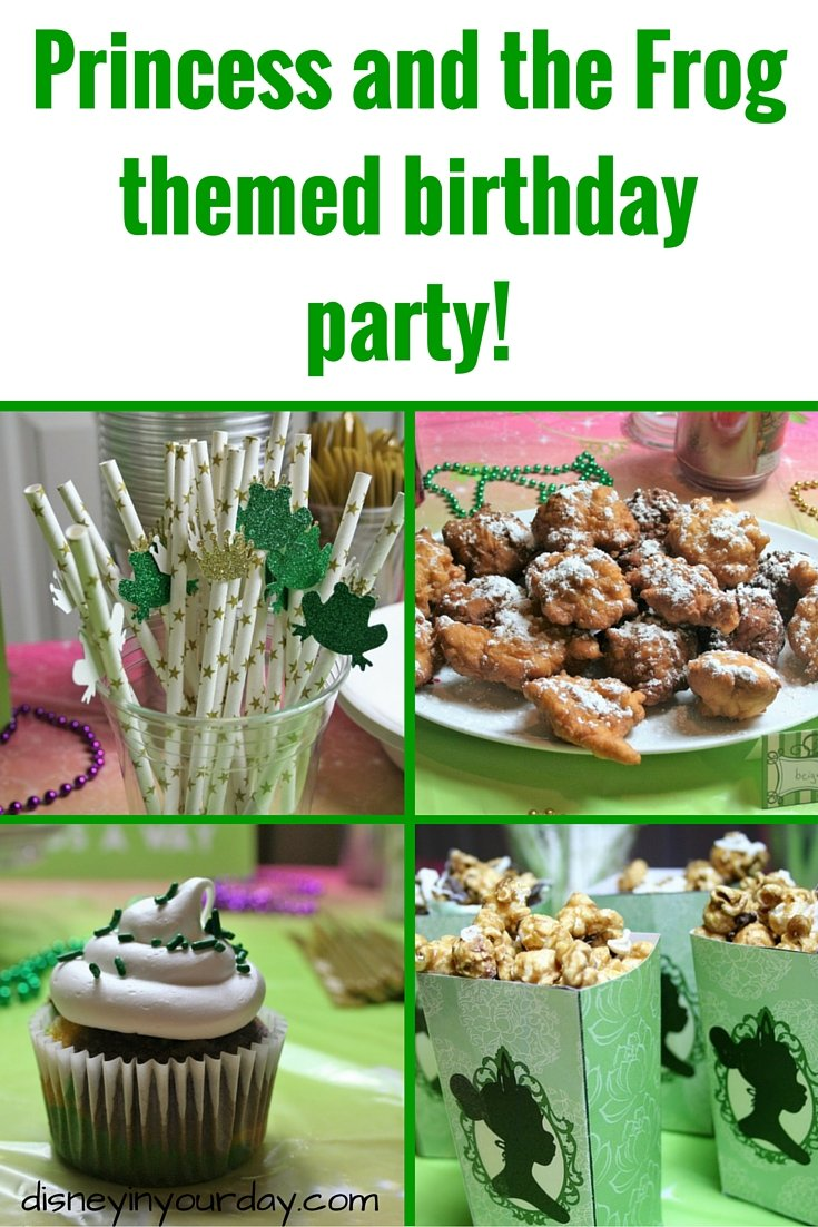 princess and the frog birthday party