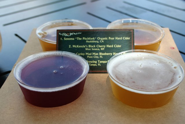 Flower and Garden food booths - Disney in your Day